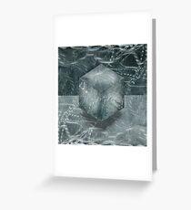 Aluminum Cube Natural Greeting Card