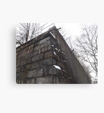 Harsimus Stem Embankment, Jersey City, New Jersey, Former Pennsylvania Railroad Embankment Metal Print
