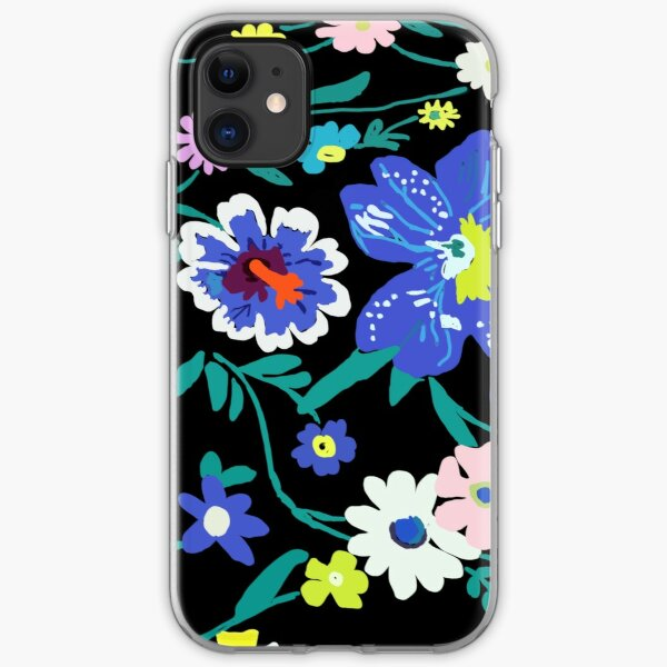 Vera Bradley Inspired Moonlight Garden iPhone Soft Case