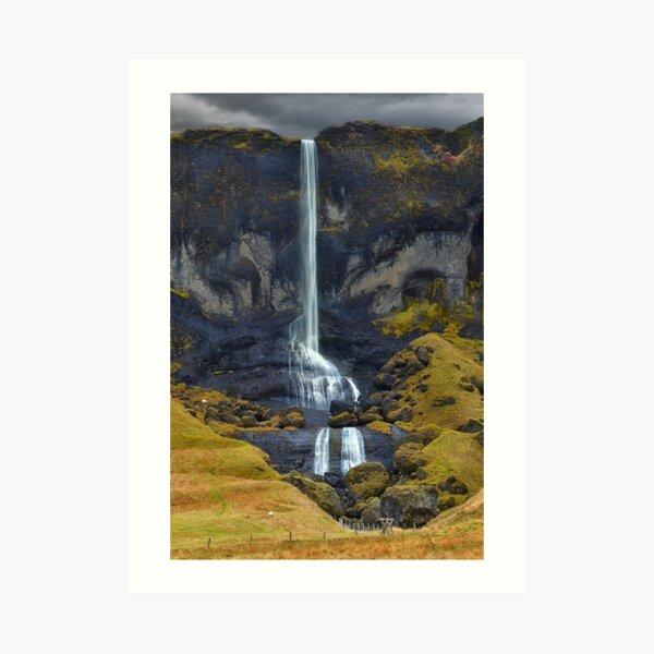 Delicate Falls Art Print