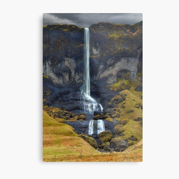 Delicate Falls Metal Print
