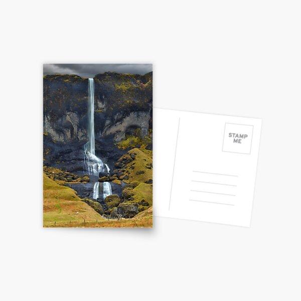 Delicate Falls Postcard