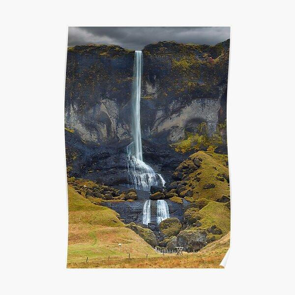 Delicate Falls Poster