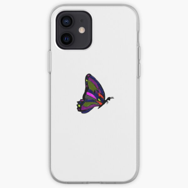 Eternal Traveler Colorful Butterfly iPhone Soft Case