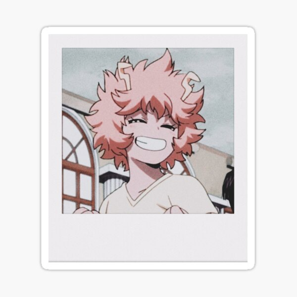 Mina Ashido Polaroid Sticker