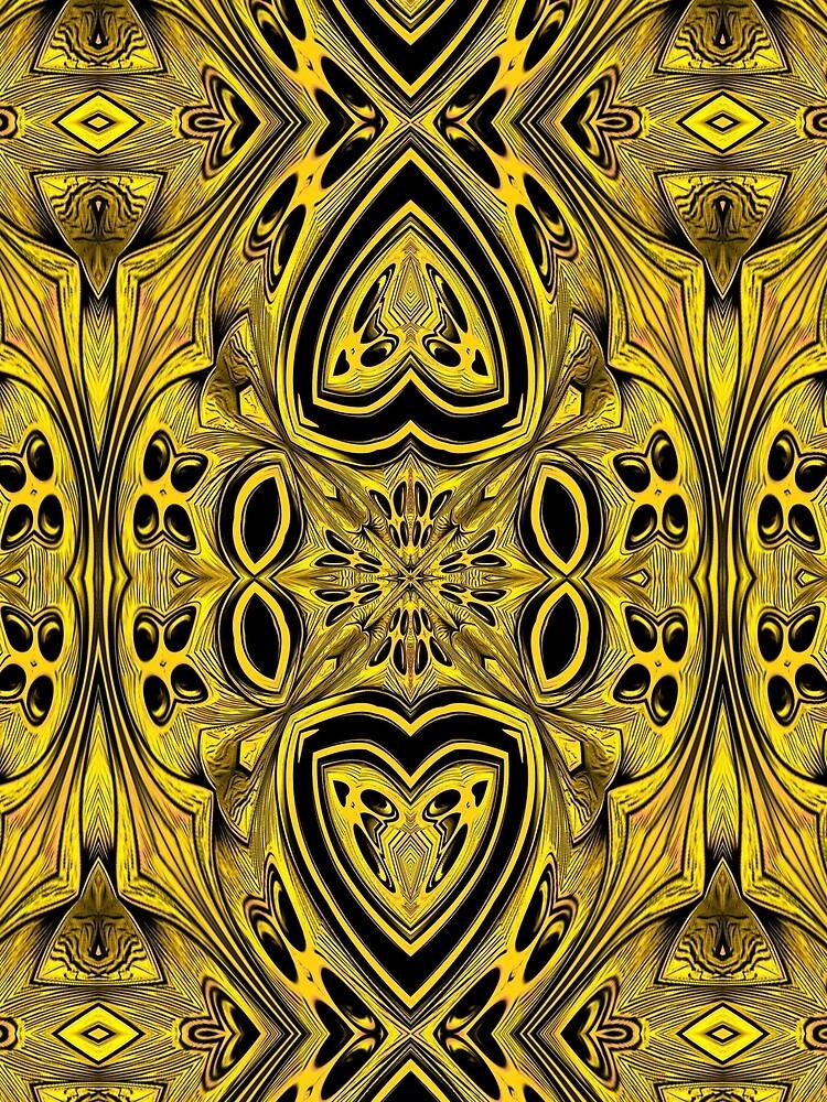 Golden Gratings (2) by vkdezine