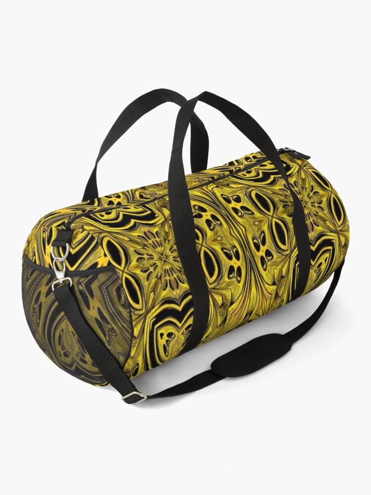 Alternate view of Golden Gratings (2) Duffle Bag