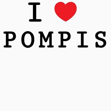 i love pompis by rafix