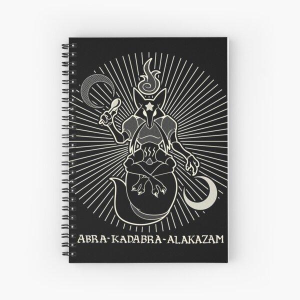 Abra Kadabra Alakazam Spiral Notebook