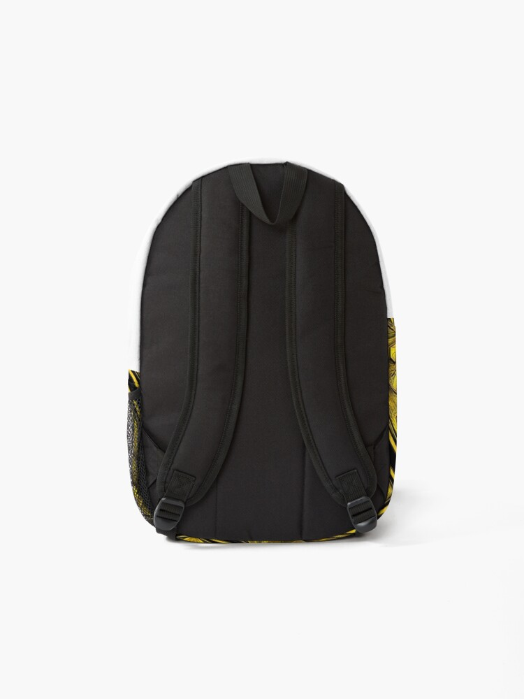 Alternate view of Golden Gratings (3) Backpack