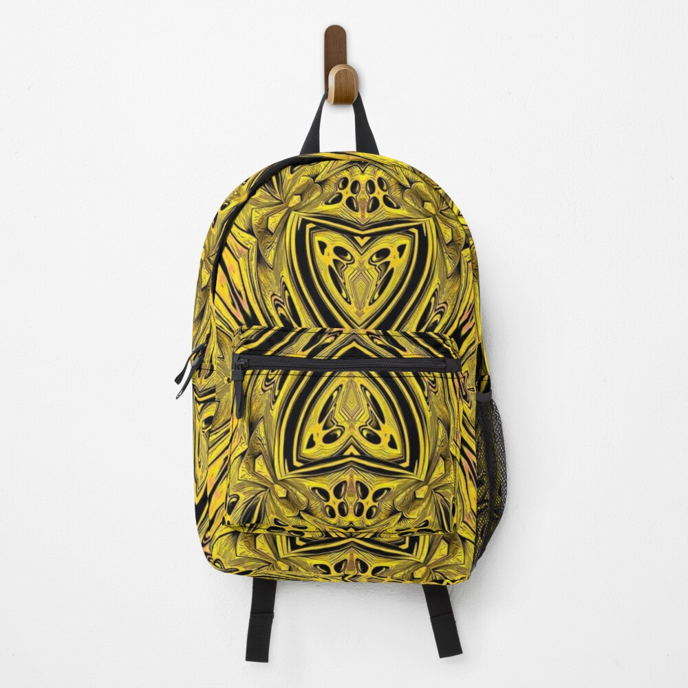Golden Gratings (3) Backpack