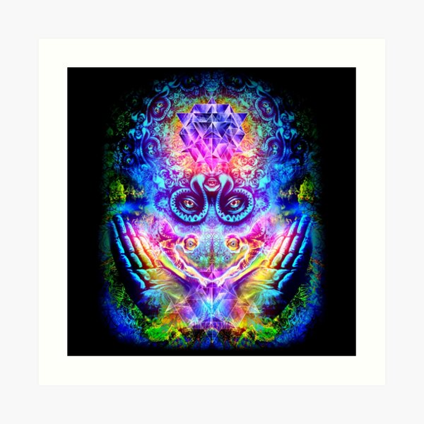Transition to Butterfly Art Print