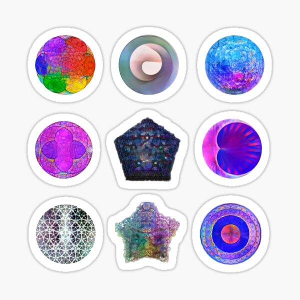 Sacred Geometry Set Sticker
