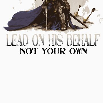 Warrior On His Behalf by MasterCBGrace