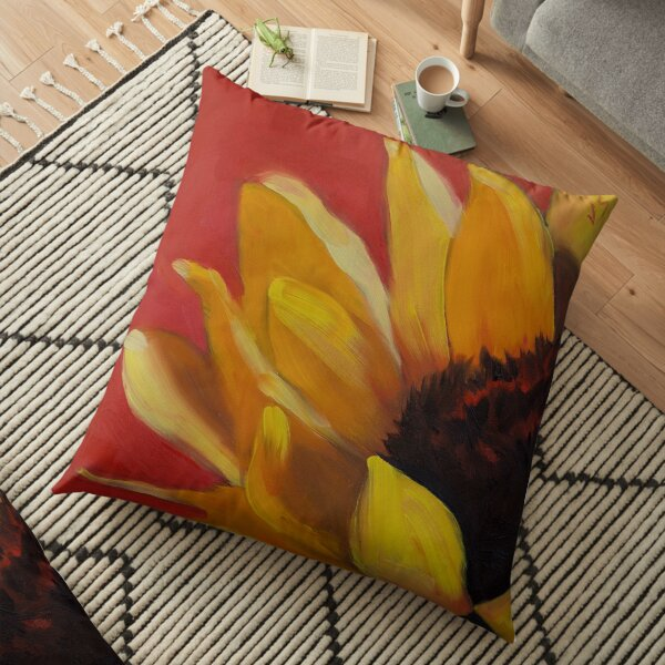 Hot, Wild and Bold! Floor Pillow