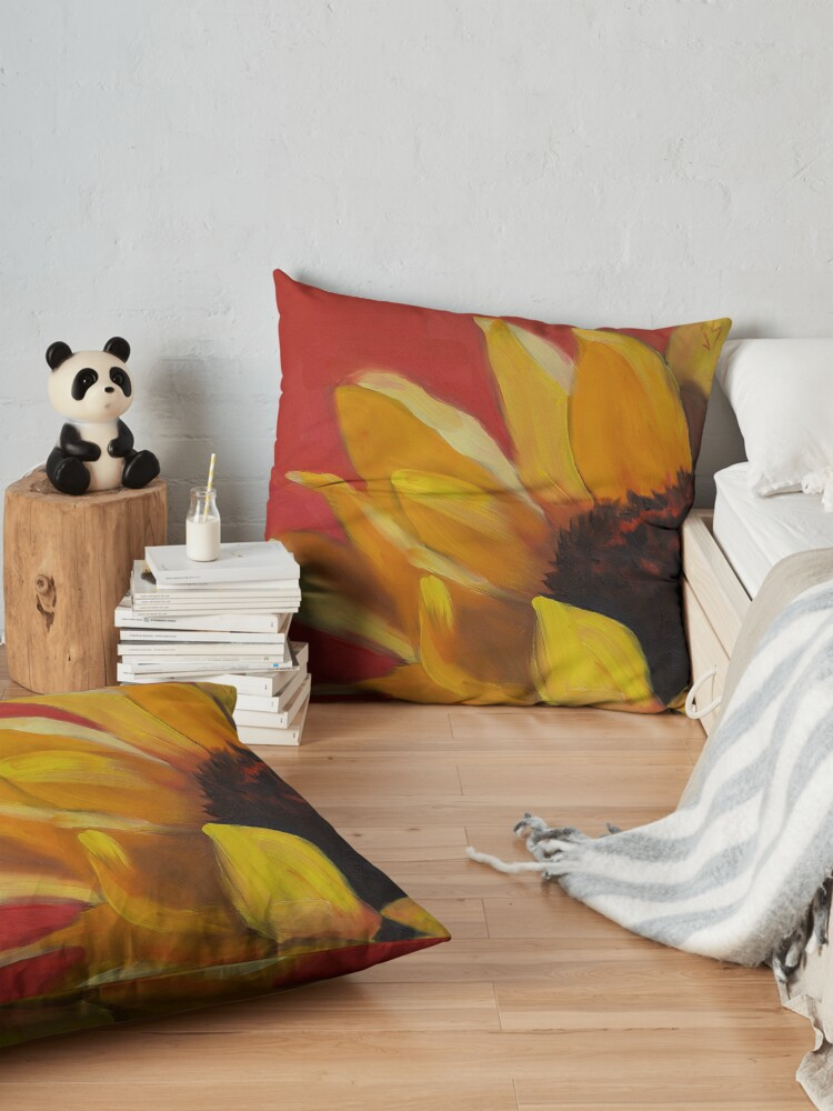 Alternate view of Hot, Wild and Bold! Floor Pillow