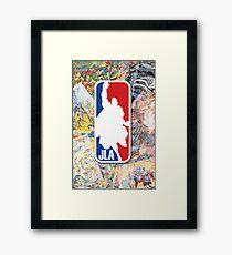 My kind of sport Framed Print