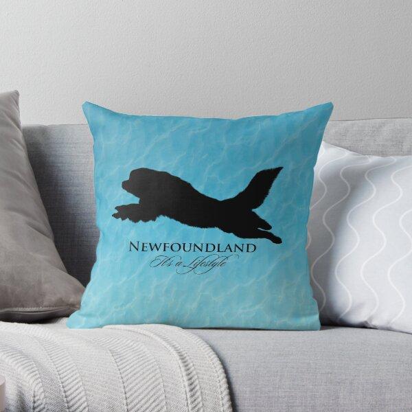 Newfoundland: It's a Lifestyle Throw Pillow