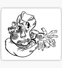 Disfigured Dignity Sticker