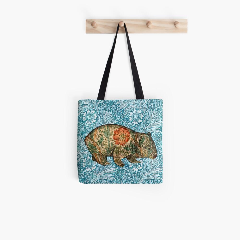 Rossetti's Wombat in Blue Marigold Tote Bag