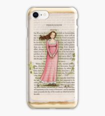 Jane Austen - Persuasion - Anne Elliot iPhone Case/Skin
