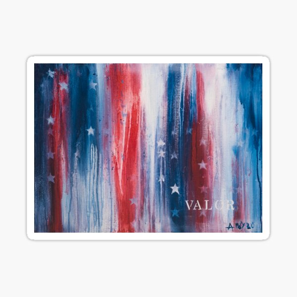 VALOR Painting Sticker