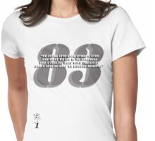 Rufus 83 Womens Fitted T-Shirt