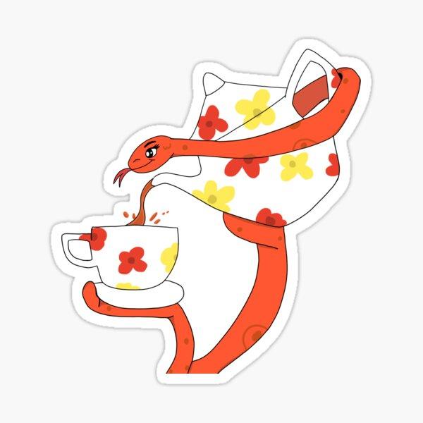 Spill The Tea, Snake  Sticker