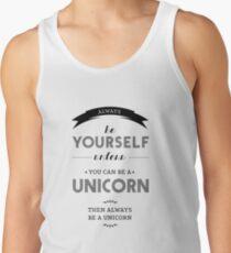 Be Unicorn Tank Top