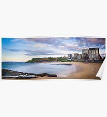 Newcastle Beach Sunrise Poster