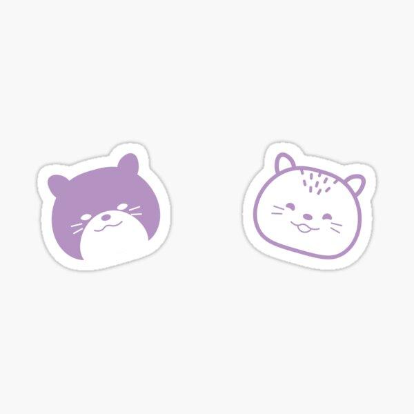 Ube and Taro Sticker