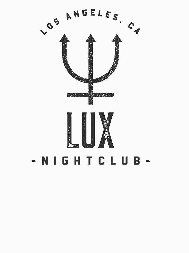 Lucifer Morningstar Lux Nightclub by LoveandThreadco