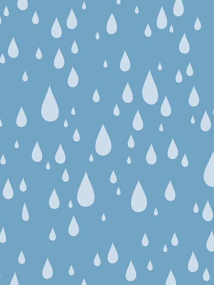Raindrops or tears?  by fuzzorama