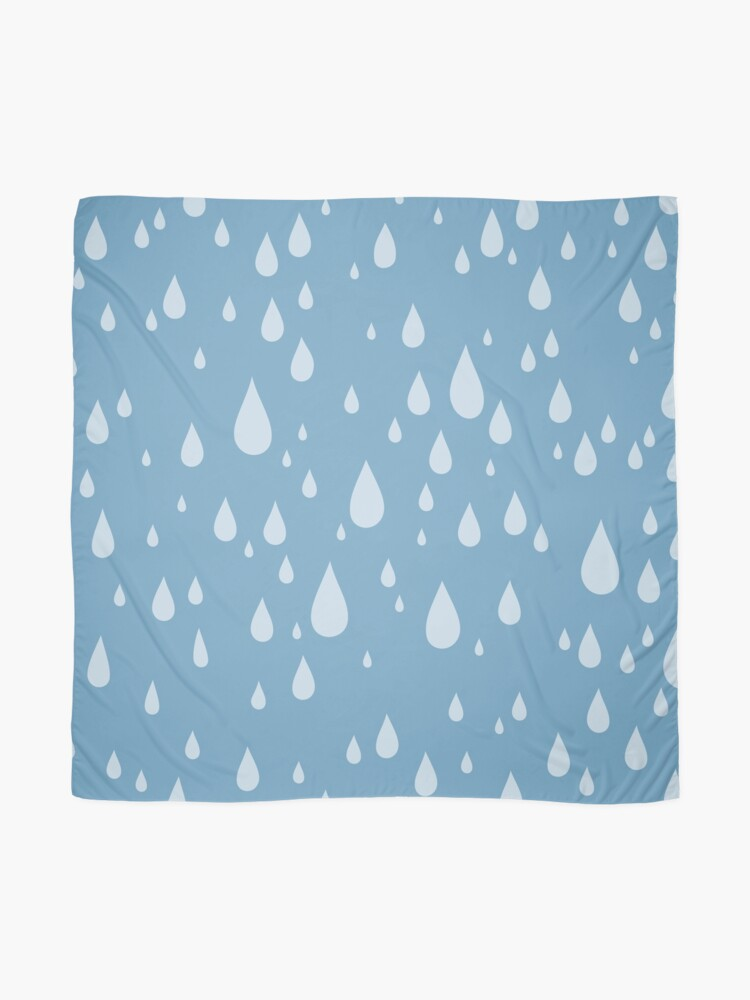 Alternate view of Raindrops or tears?  Scarf