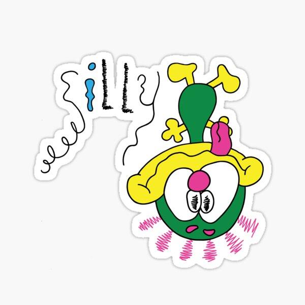 Silly Spiffy Original  Sticker