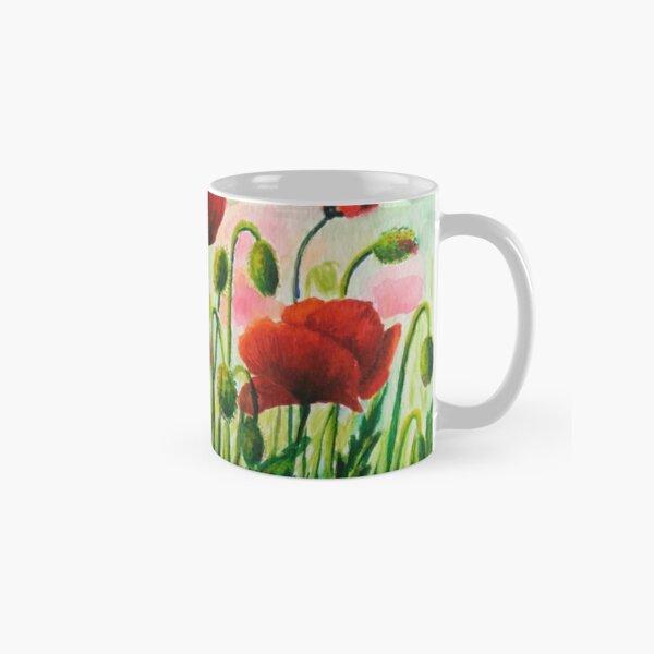 Red Poppies Classic Mug