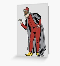 Pantalone mask Greeting Card