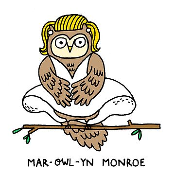 Mar-owl-yn Monroe by mickeyrose
