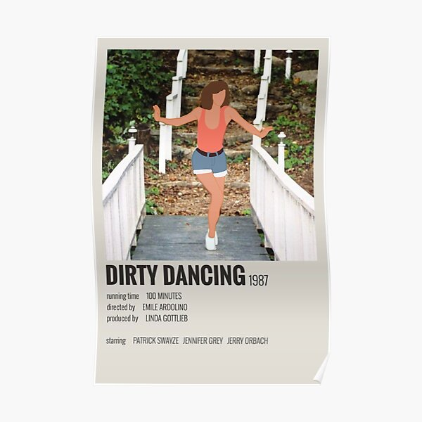 dirty dancing movie scene poster Poster