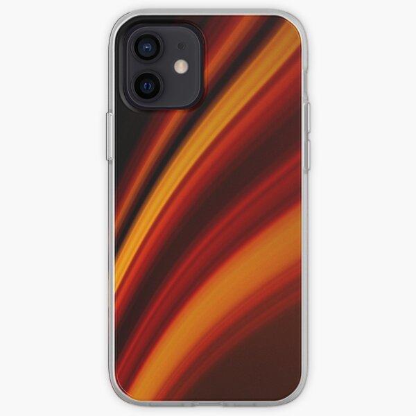 Fiery Swoosh iPhone Soft Case