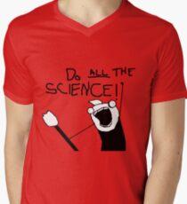 Do All The Science Mens V-Neck T-Shirt