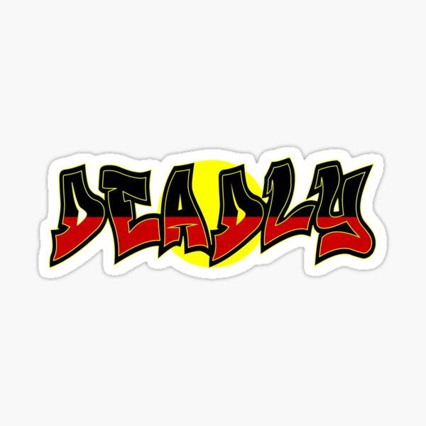 Aboriginal - DEADLY Sticker