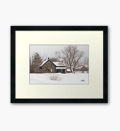 White Majic Framed Print