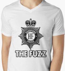The Fuzz Mens V-Neck T-Shirt