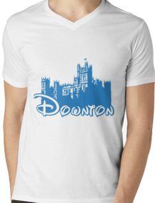 Downton Abbey Again Mens V-Neck T-Shirt