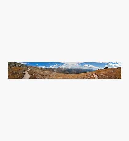 On The Way To Flattop Mountain, Colorado Photographic Print