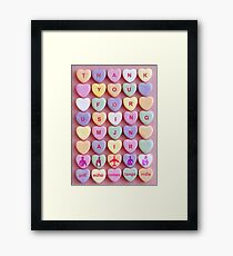 I heart MJN Framed Print