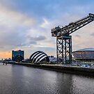 Clydeside Sunset by Stevie B