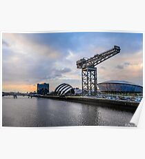 Clydeside Sunset Poster
