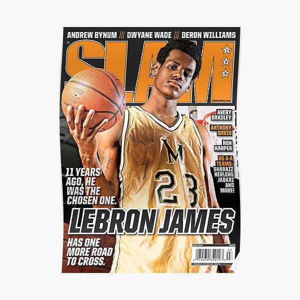 LeBron James - Magazine SLAM Poster